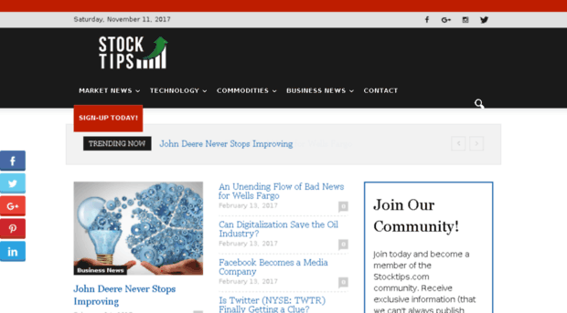 Stocktips Websites