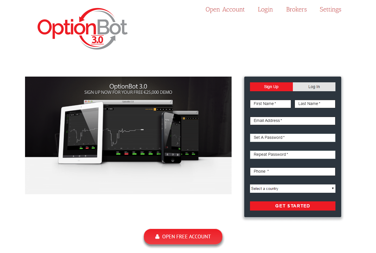 Optionbot3 signup